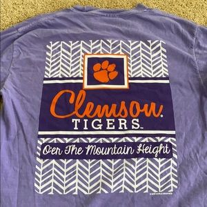 Comfort Colors Clemson Long-sleeve T-Shirt